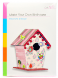 Build Make Your Own Bird House Craft Children Card Paper Kit - Birdhouse Set